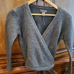Womens Banana Republic wrap around sweater size: M